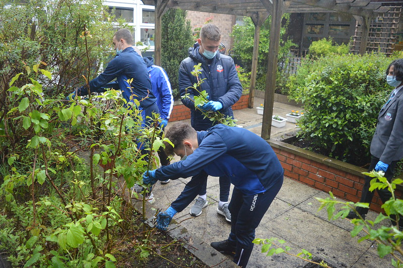 Bolton Wanderers first-year apprentices at Sharples School (12)
