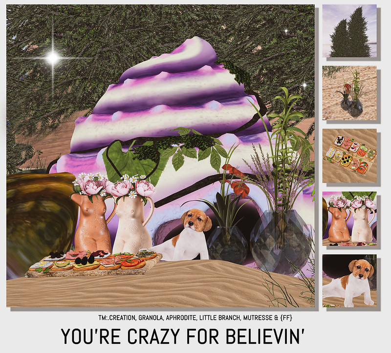 You're crazy for believin'