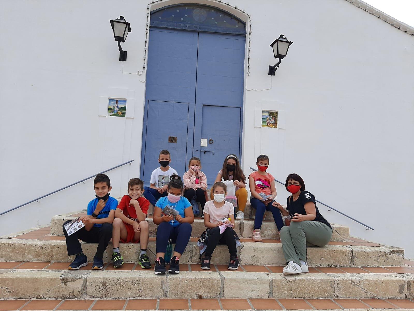 (2021-05-25) - Visita ermita alumnos Laura,3º A, Reina Sofia - Maria Isabel Berenquer Brotons - (01)
