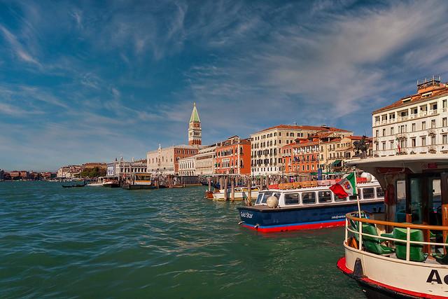 Venice city for painters