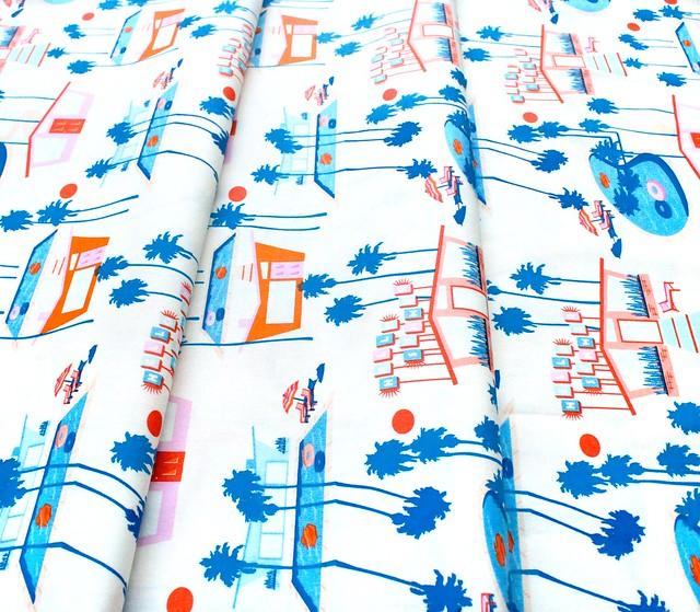 Art Gallery Fabrics Sunburst Hello Summer Fresh