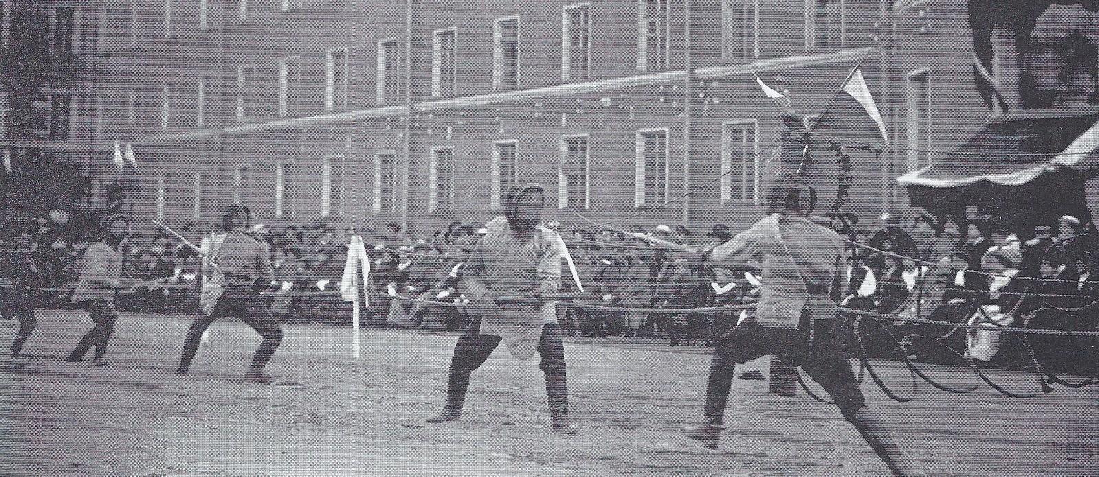 1913. Празднование 50-летнего юбилея Павловского военного училища