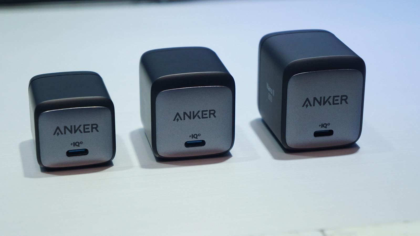 独自技術「Anker GaN II」に対応したAnker Nano IIシリーズ