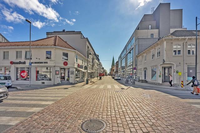 Kirkegaten, Kristiansand, Norway
