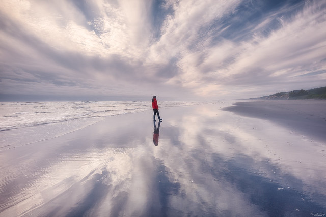 Walking between the clouds...