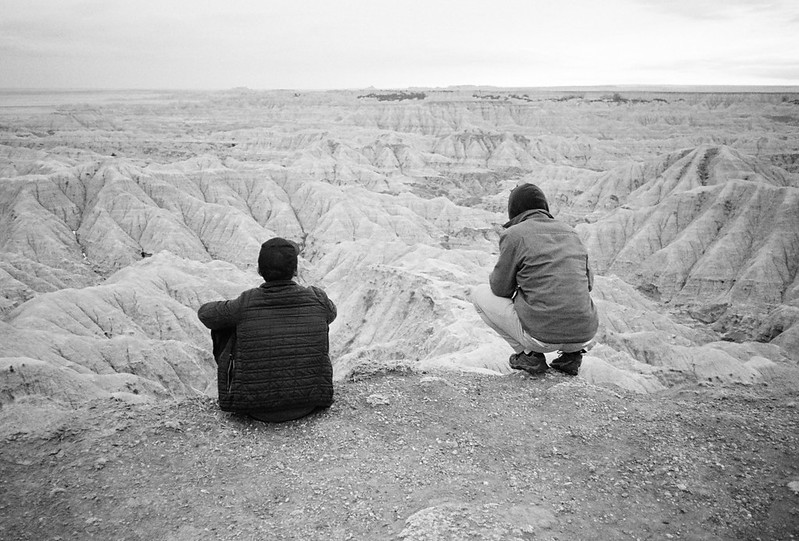 Cole and Nick at the Badlands