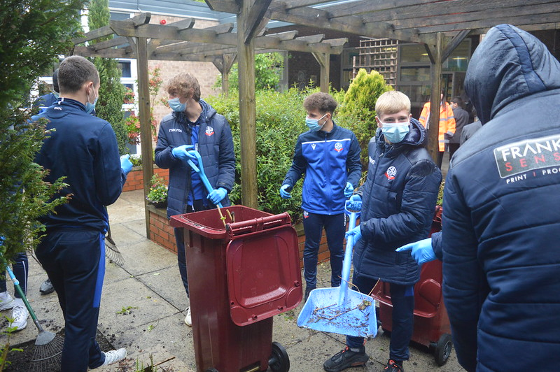 Bolton Wanderers first-year apprentices at Sharples School (20)