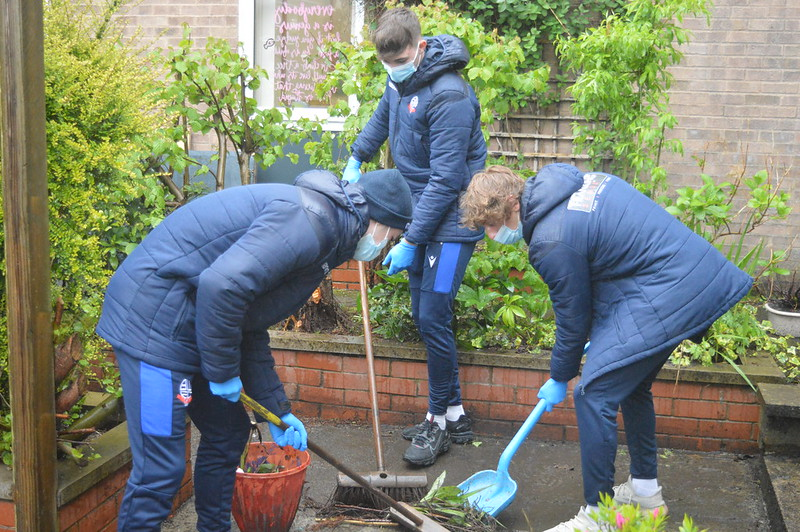 Bolton Wanderers first-year apprentices at Sharples School (10)