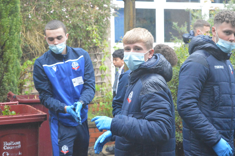 Bolton Wanderers first-year apprentices at Sharples School (6)