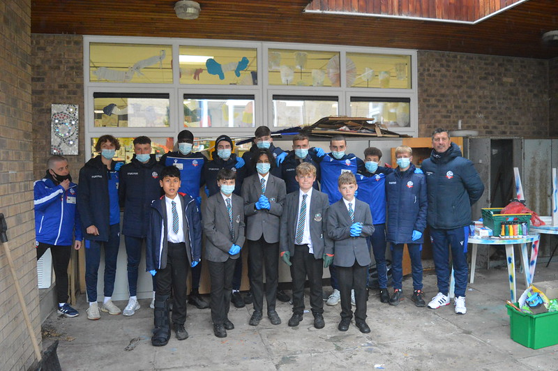 Bolton Wanderers first-year apprentices at Sharples School (22)