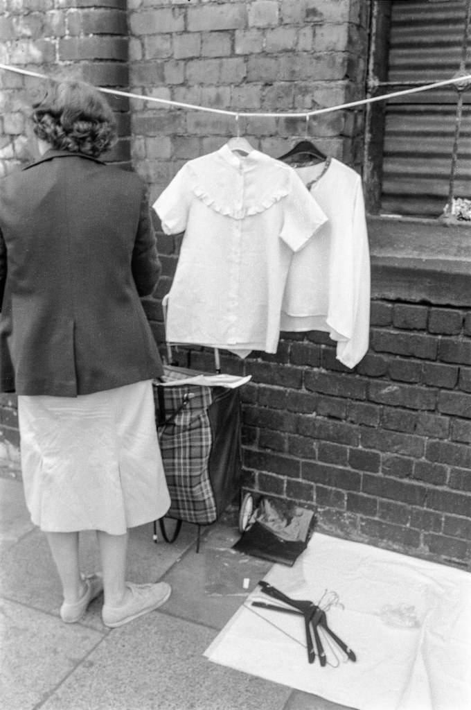Brick Lane Market, Spitalfields, Tower Hamlets, 1990, 90-6h-63