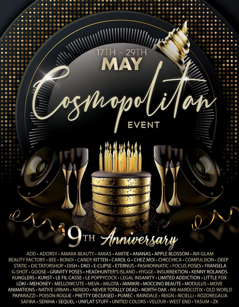 Cosmopolitan 9th Anniversary Part II Contest