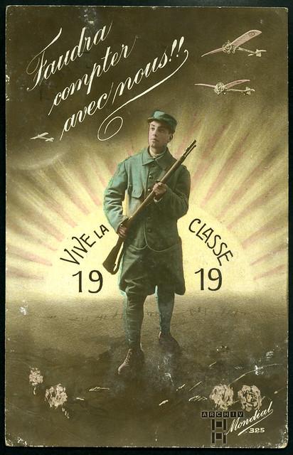 ArchivTappen233A926 Grußkarte, Frankreich, 1919