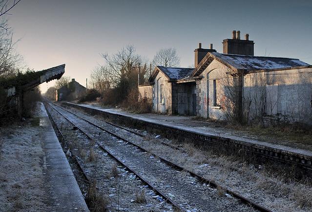 Abandoned Station, Moate. Co westmeath.