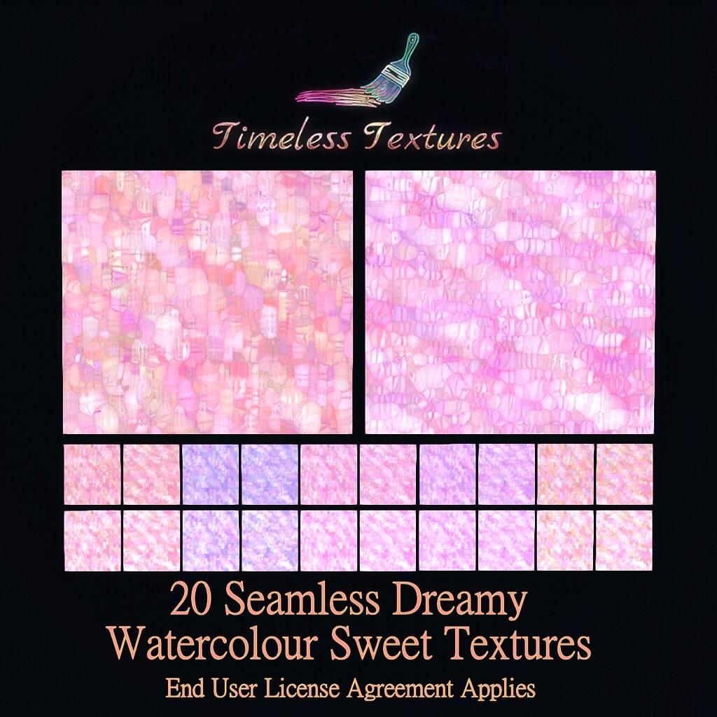 TT 20 Seamless Dreamy Watercolour Sweet Timeless Textures