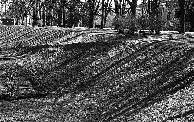 Shooting daylight 05 - cascade of shadows