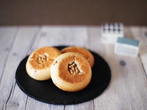 ホシノ酵母平焼きくるみパン 20210509-IMG_7516 (3)