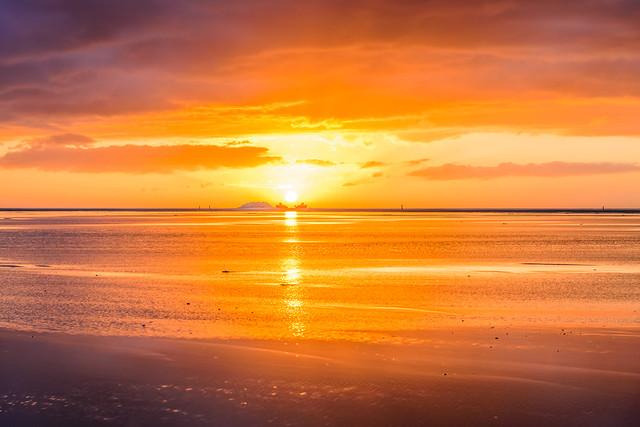 vliehors sunset