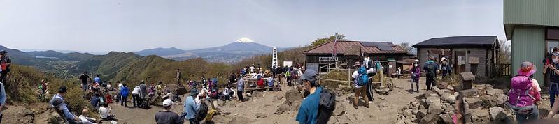 金時山パノラマ