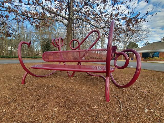 ArtAround: EarWorm Whisper Bench