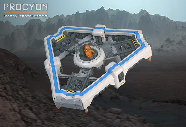 Procyon Planetary Research Hovercraft