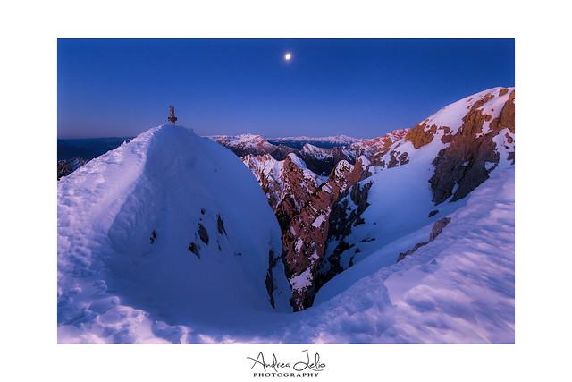 Monte Pizzocco, Dolomiti Bellunesi, Italy