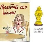 Mejor Actriz: Parasiting old woman