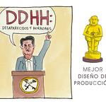 Mejor Diseño de producción: DDHH: Desaparecidos y Horrores