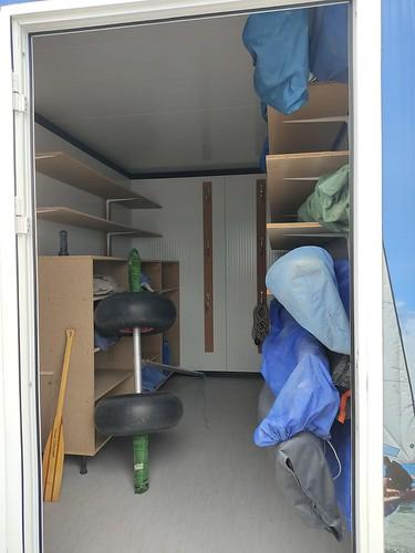 Muntatge de l'interior del nou panyol.