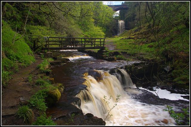 Ashgill Falls, Garrigill, Alston, Cumbria
