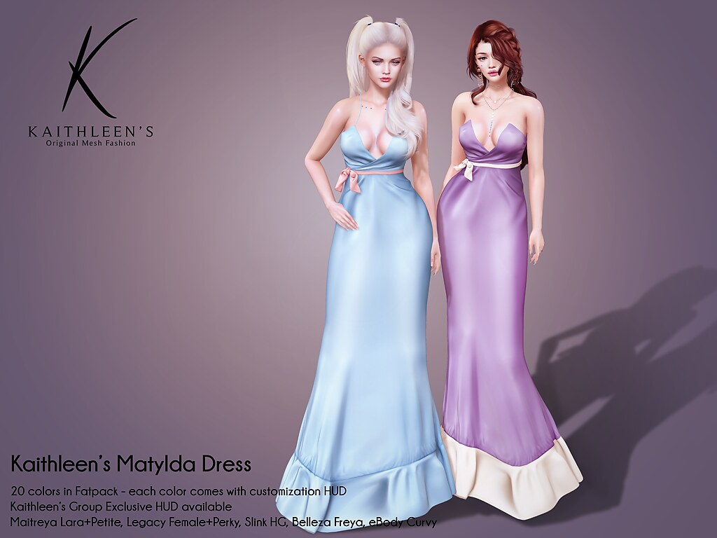Kaithleen's Matylda Dress Poster booth