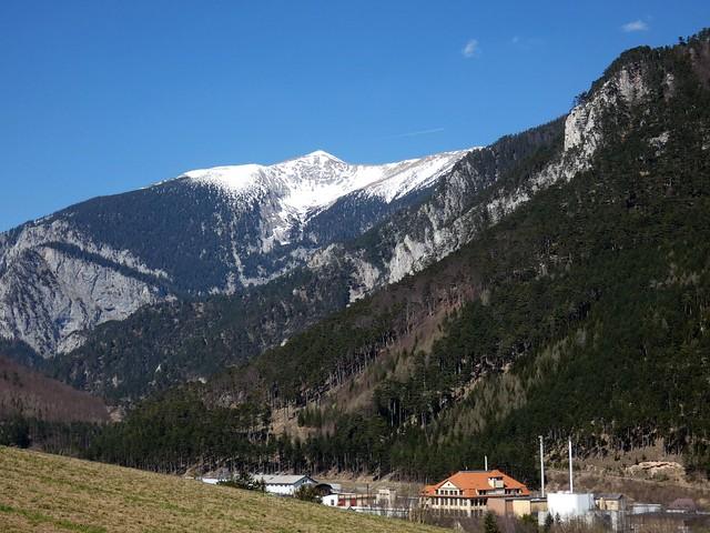 Blick auf den Schneeberg / View to Schneeberg mountain
