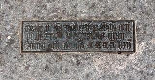 orate pro anima Robertus Bakon, 1472