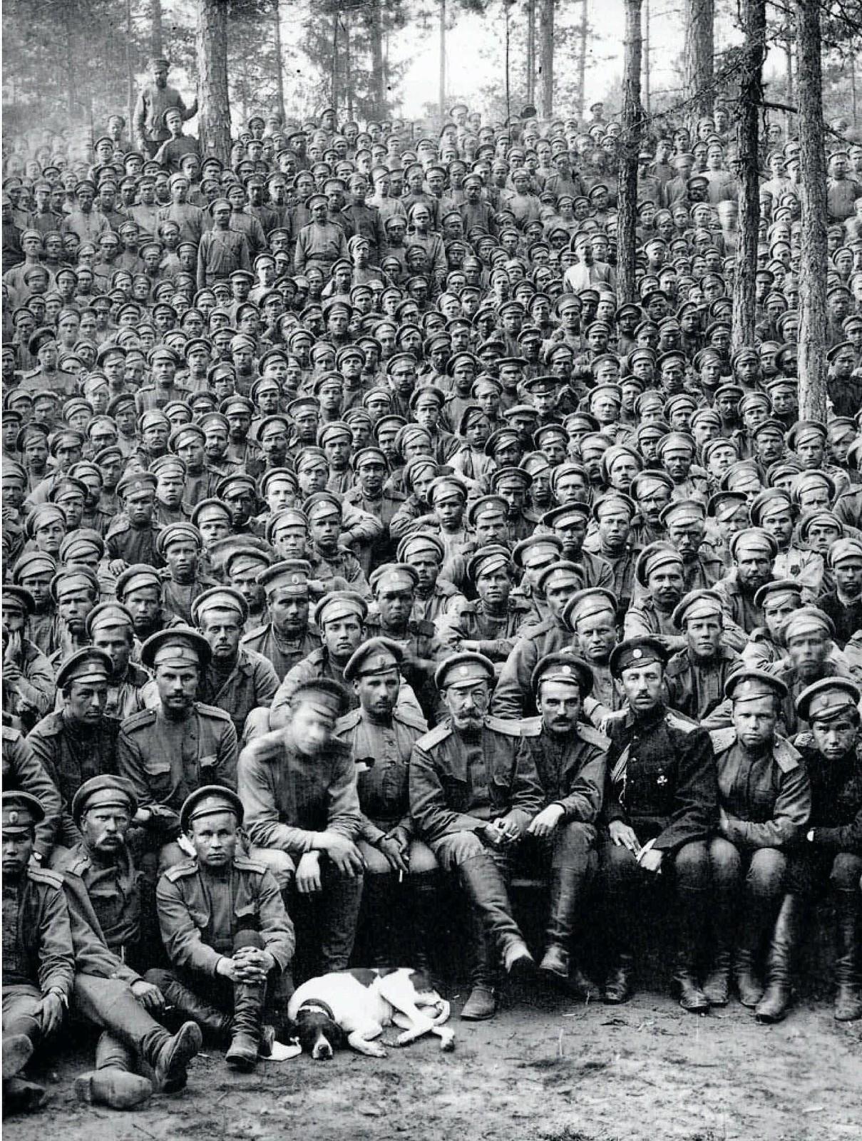 1914. Пехотный батальон