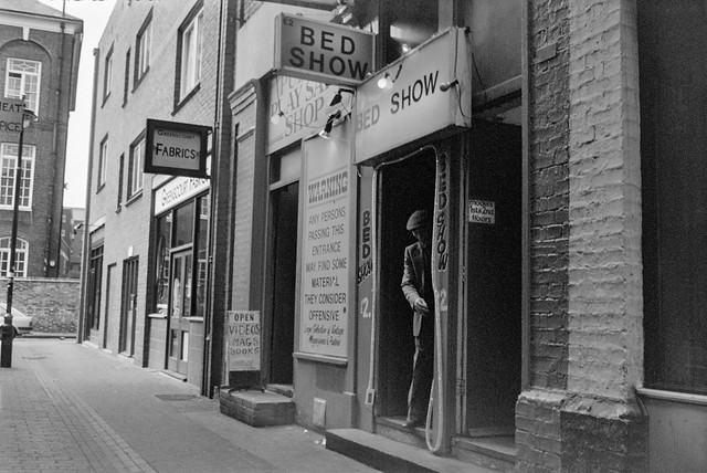Bed Show, Green's Court, Soho, Westminster, 1990, 90-62-14