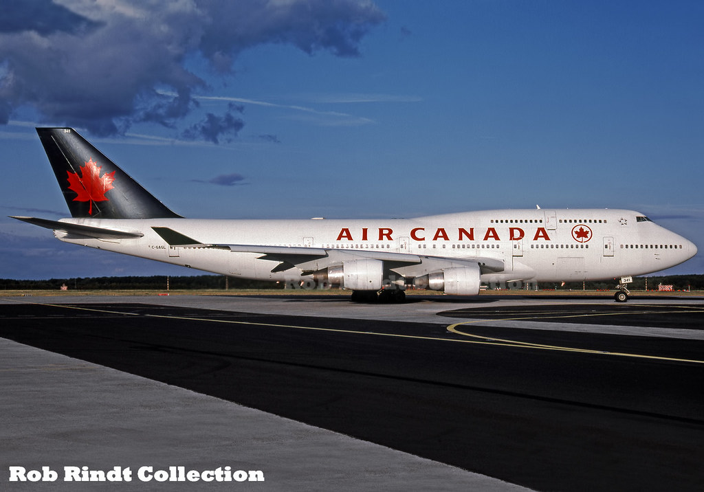 Air Canada B747-433M C-GAGL
