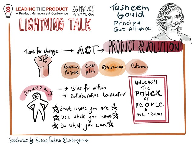 LTP 2021 Lightning Talk Tasnee Gould