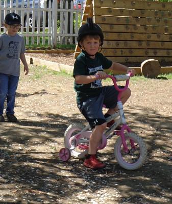 his favorite bike for wheelies