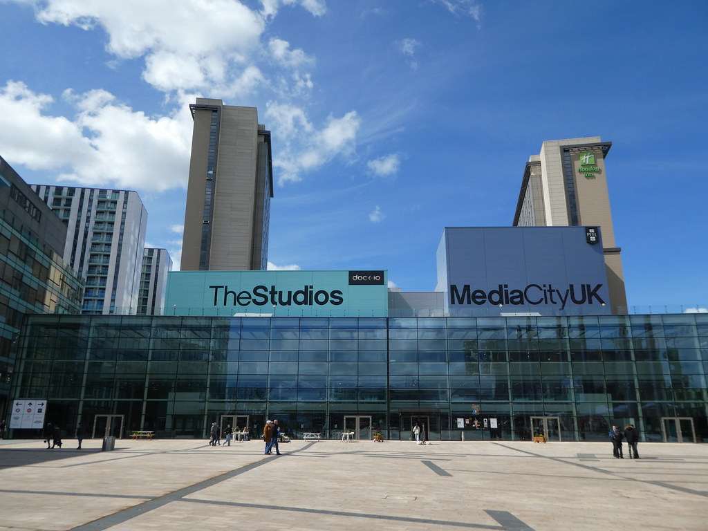 Media CityUK, Salford Quays, Manchester