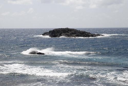 Vista del Roque de Arinaga