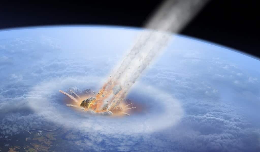 Les astéroïdes causant une extinction de masse sont rares