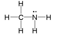 CH3NH2 Lewis Structure