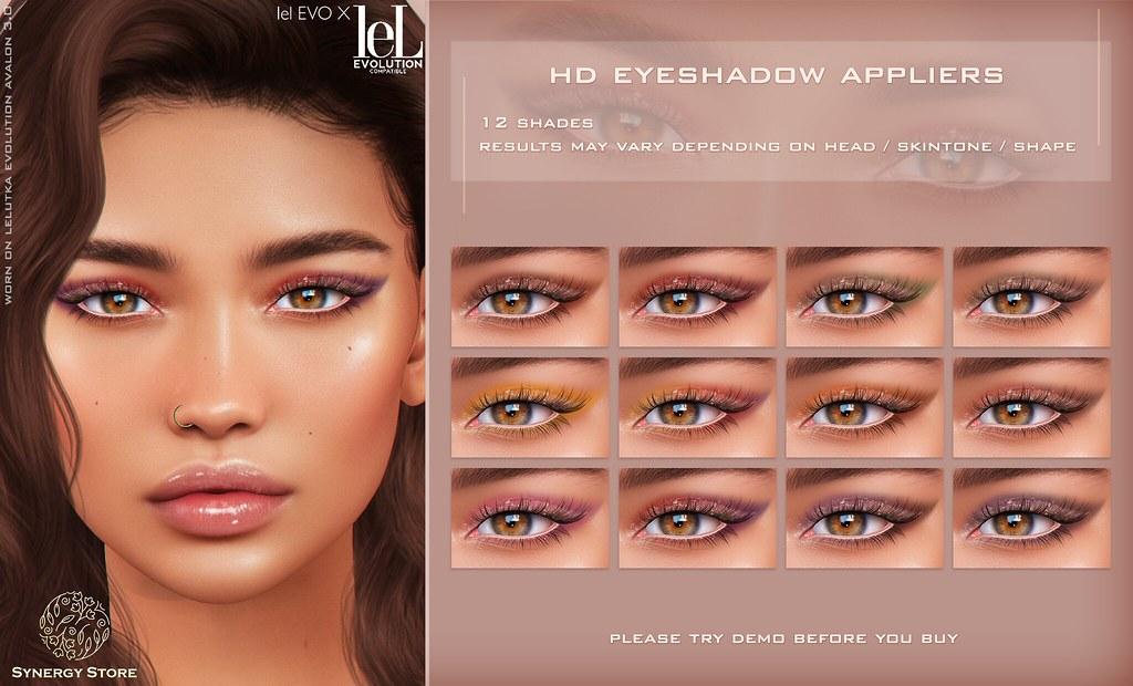 Synergy – Lelutka HD Eyeshadow Applier for EVO/EVO X heads – Nevada♥