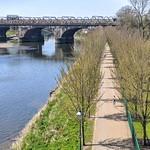River by Miller Park at Preston