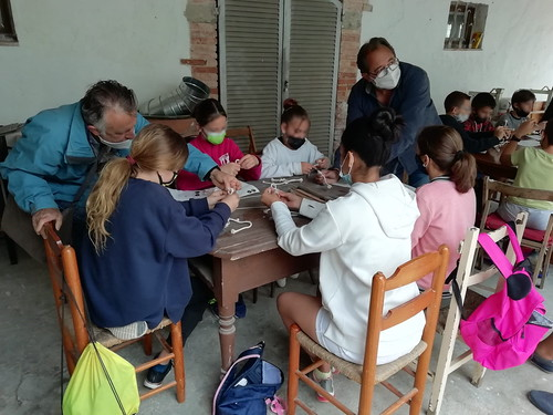 Visita de l'escola La Ginesta