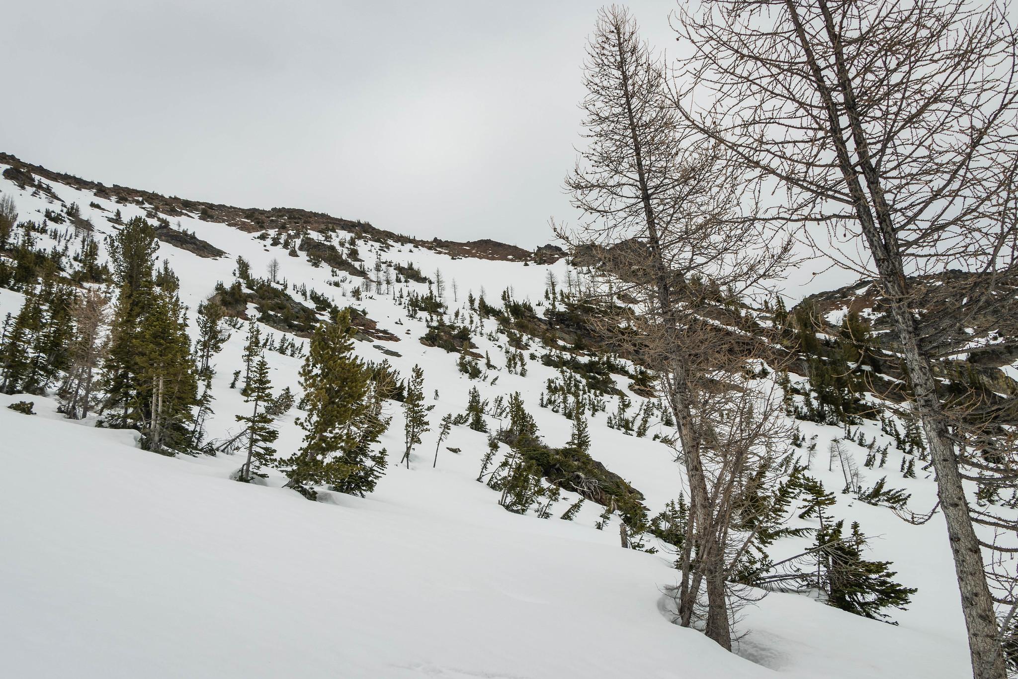 Mother Lode Peak 1000 feet above