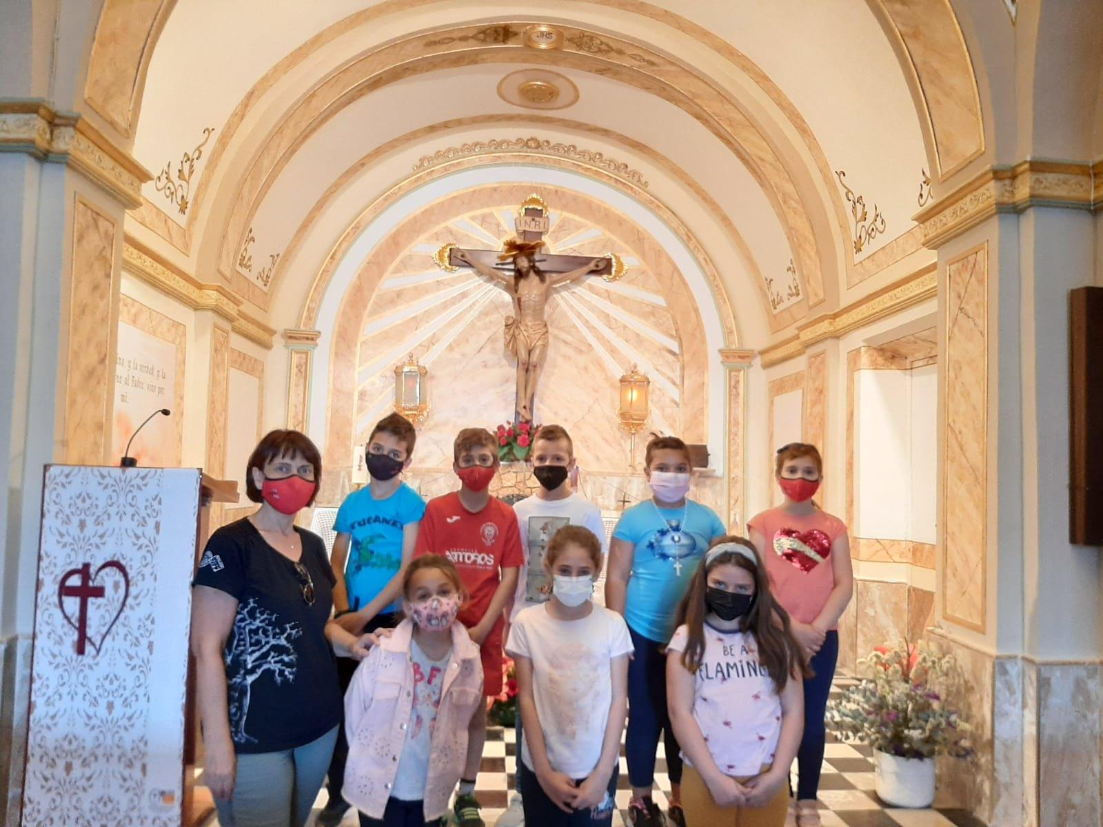 (2021-05-25) - Visita ermita alumnos Laura,3º A, Reina Sofia - Maria Isabel Berenquer Brotons - (02)