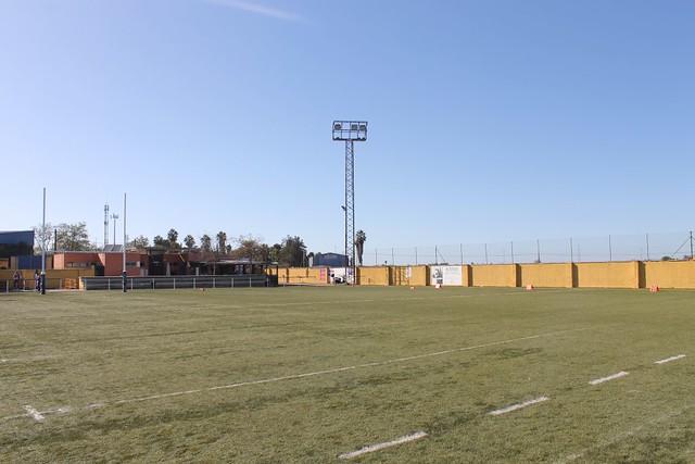 El Campo de Rugby San Jerónimo, que albergará la Final Four de la V LAFF. Autor - Sevilla Linces.