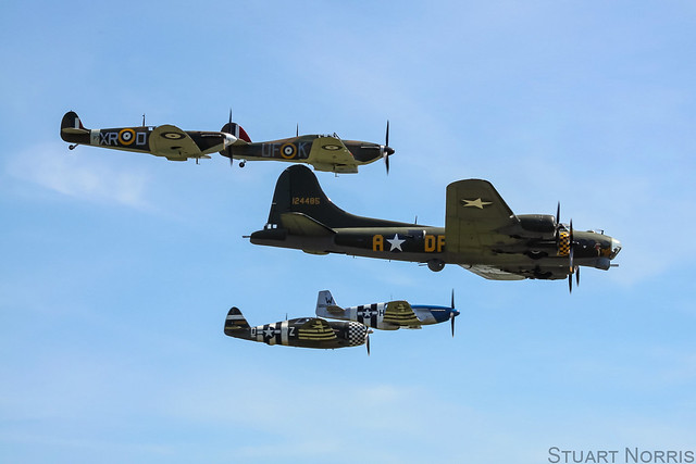 Sally B and The Eagle Squadron
