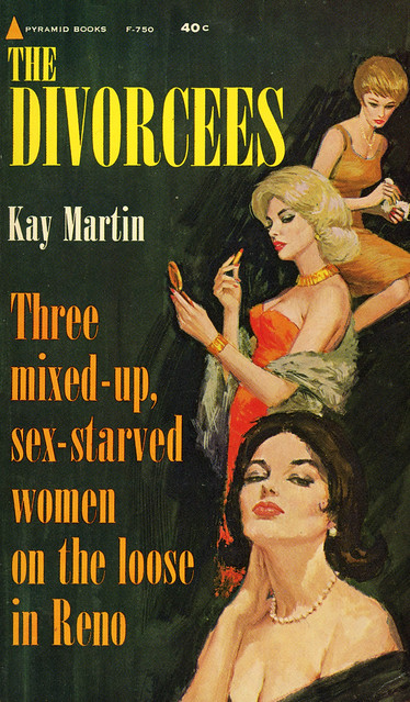 Pyramid Books F-750 - Kay Martin - The Divorcees